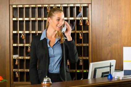 Réceptionniste d'hôtel